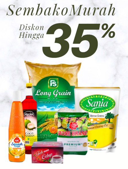 Shopee Promo Sembako di Alfacart Diskon Hingga 35%!