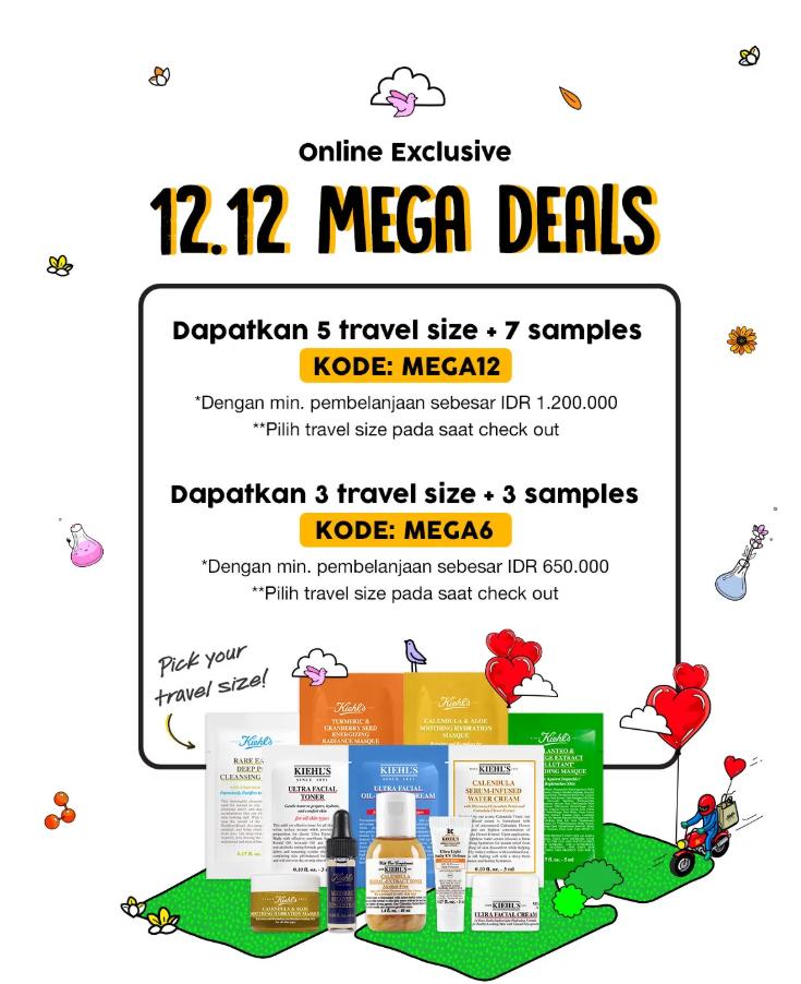 Kiehl's 12.12 Mega Deals, Gebyar Diskon Dan Harga Spesial!