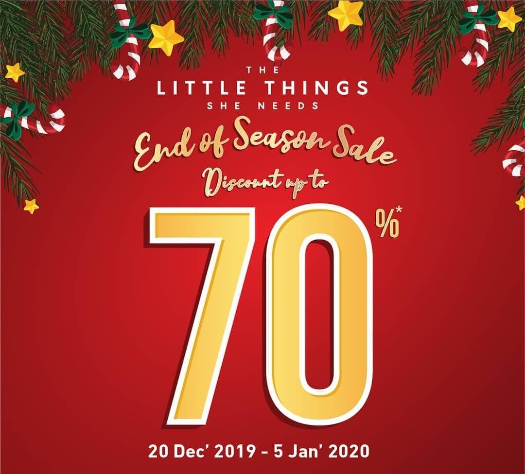 The Little Thing She Needs Promo Year End Sale, Diskon Hingga 70%!