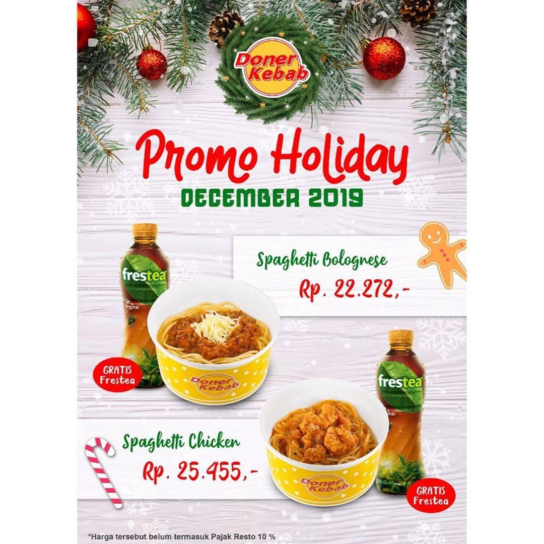 Doner Kebab Promo Holiday, Dapatkan Harga Spesial Mulai Dari Rp.22.272