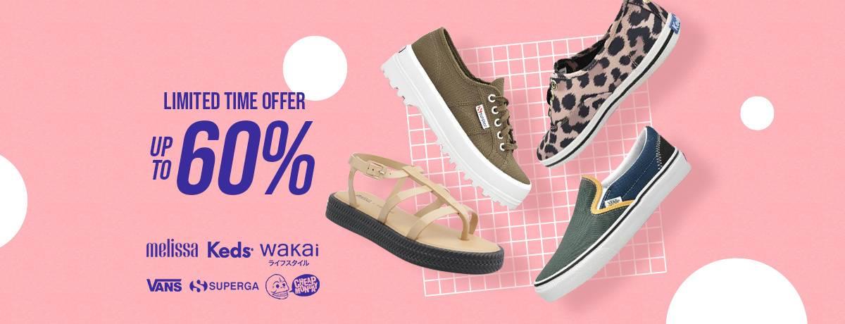Blibli Diskon 60% Sepatu Branded Wanita