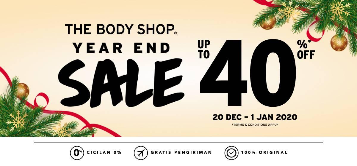 Blibli Diskon Hingga 40% Produk The Body Shop