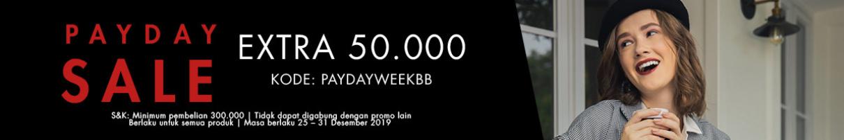 Berrybenka Diskon 69% dan Ekstra Diskon Rp.50.000