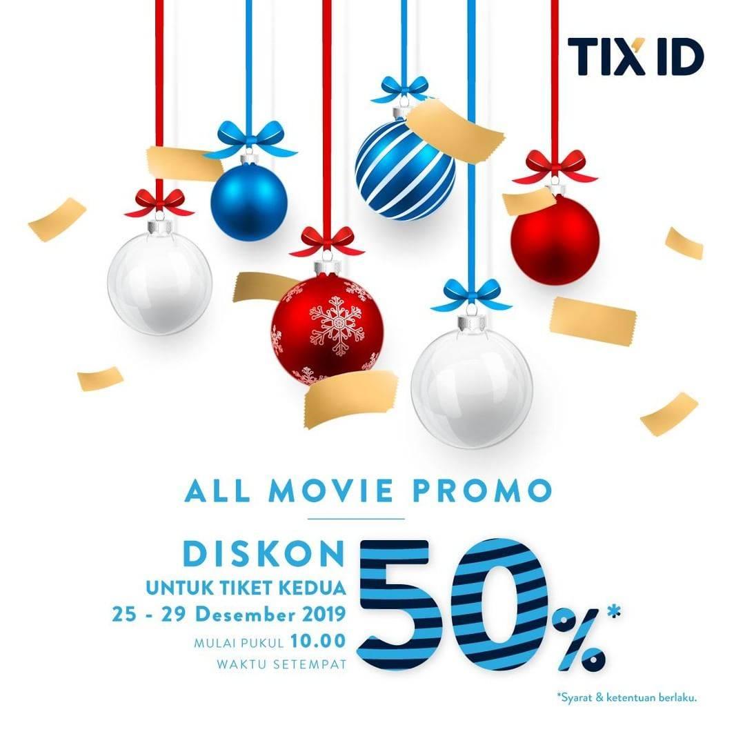 Tix Id Promo Nomat Akhir Pekan Dapatkan Diskon 50% Untuk Pembelian Tiket Kedua
