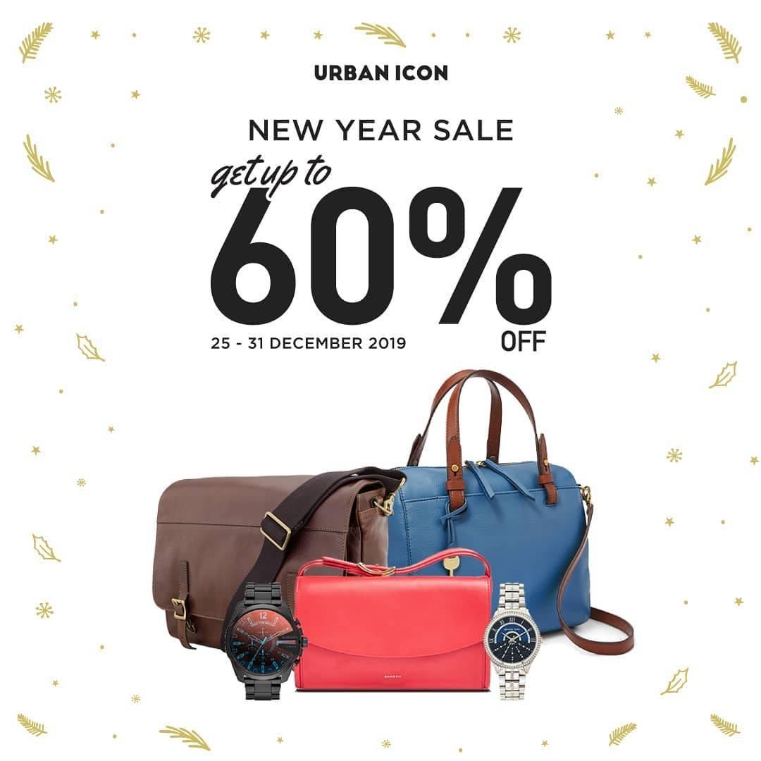 Urban Icon Promo Akhir Tahun, Dapatkan Diskon Hingga 60%