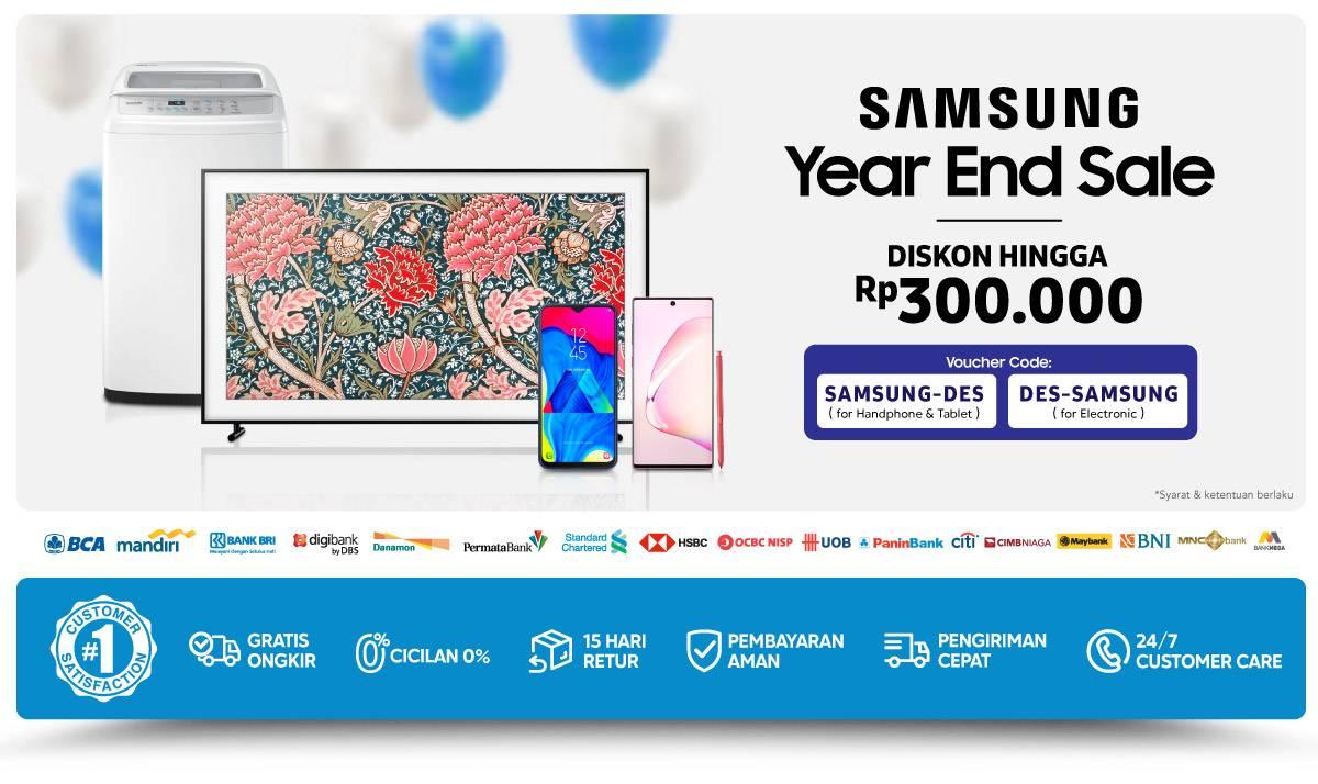 Blibli Promo Akhir Tahun Dapatkan Diskon Hingga 50%+7% Untuk Pembelian Handphone Dan Tablet