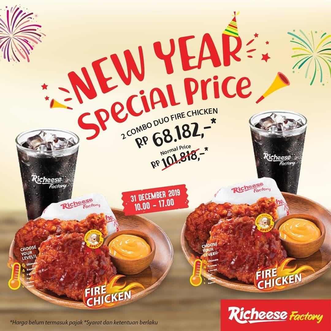 Richeese Factory Beli Dua Dapatkan Paket Duo Combo Chicken Dengan Harga Spesial Rp.68.182