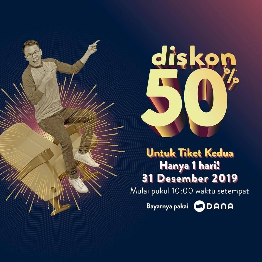 Diskon Tix ID Promo Akhir tahun Dapatkan Diskon 50%