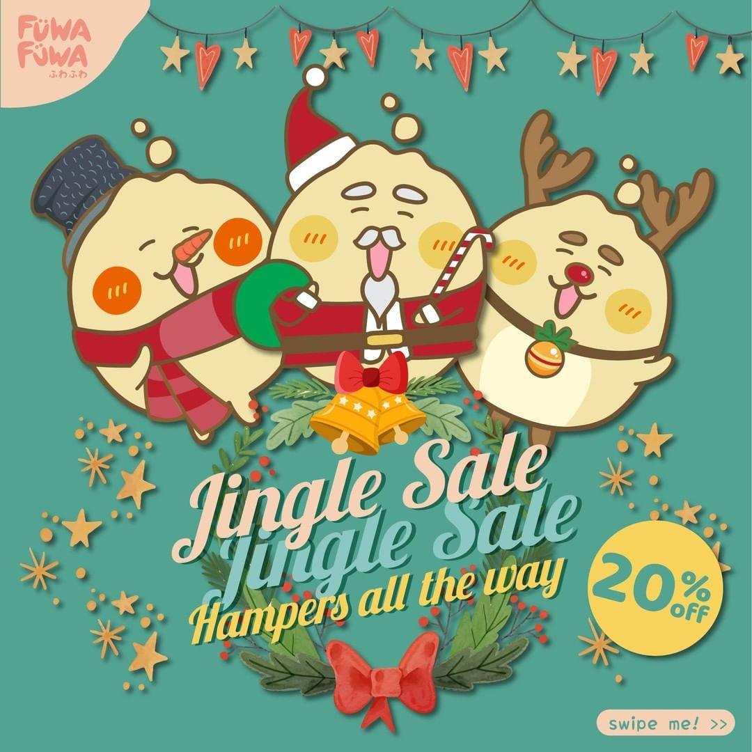Diskon Fuwa Fuwa Promo Jingle Sale Discount 20% Off