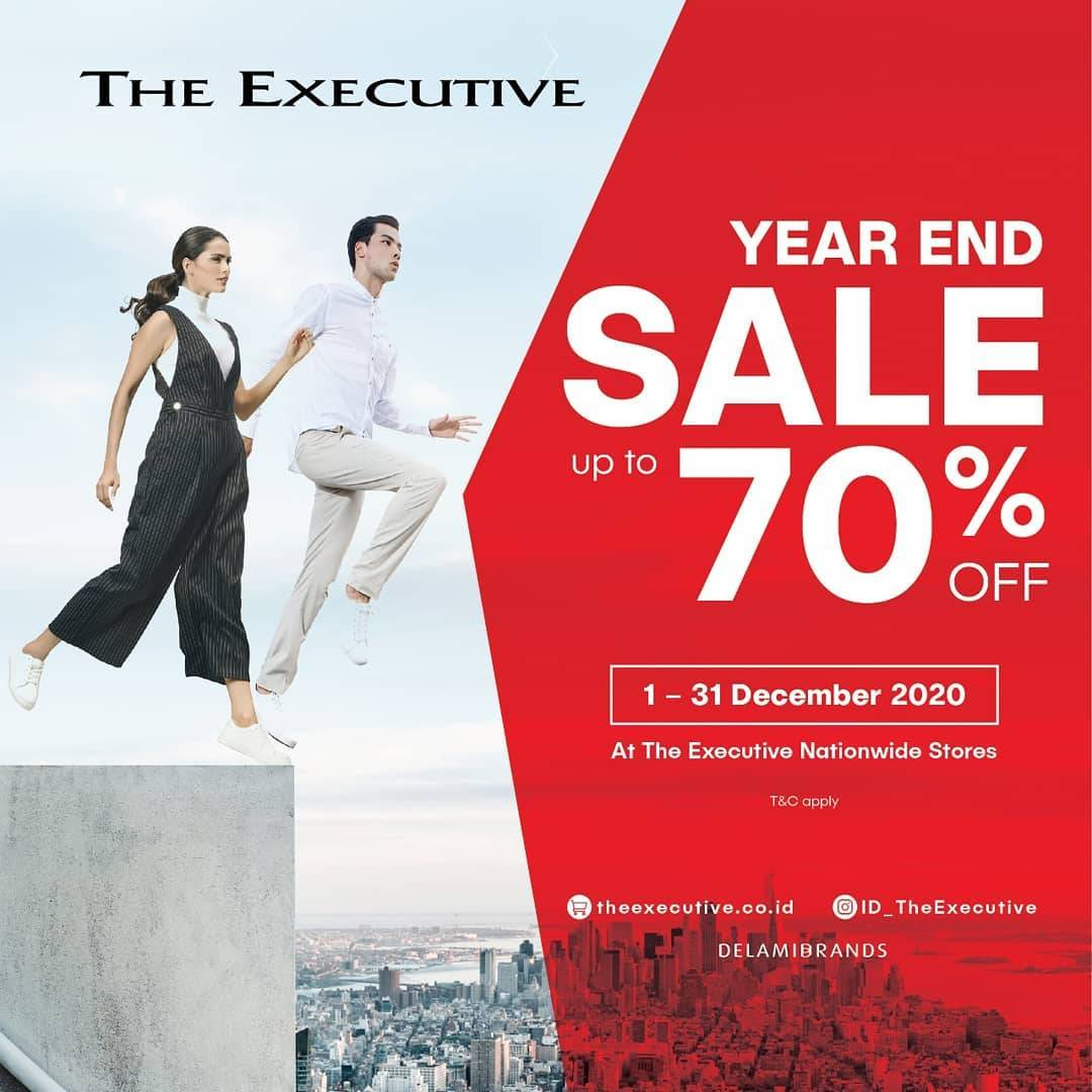 Diskon The Executive Year End Sale Up To 70% Off