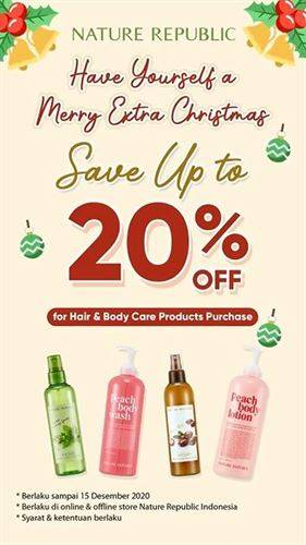 Diskon Nature Republic Promo Save Up to 20%