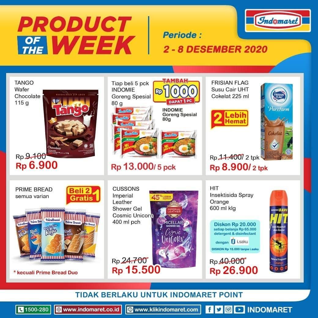 Diskon Katalog Promo Indomaret Product Of the Week Periode 2 - 8 December 2020