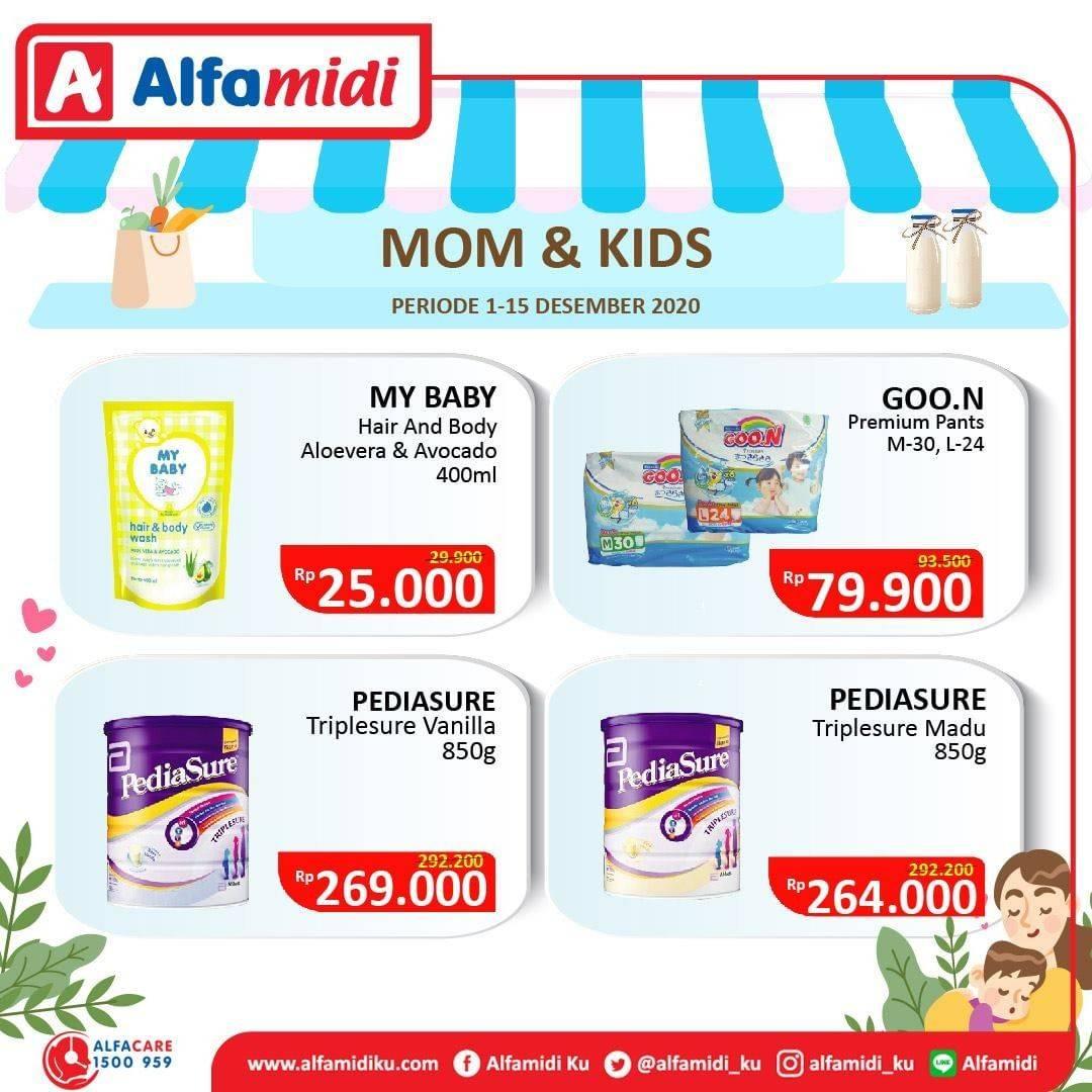 Diskon Katalog Promo Alfamidi Ibu dan Anak Periode 1 - 15 Desember 2020