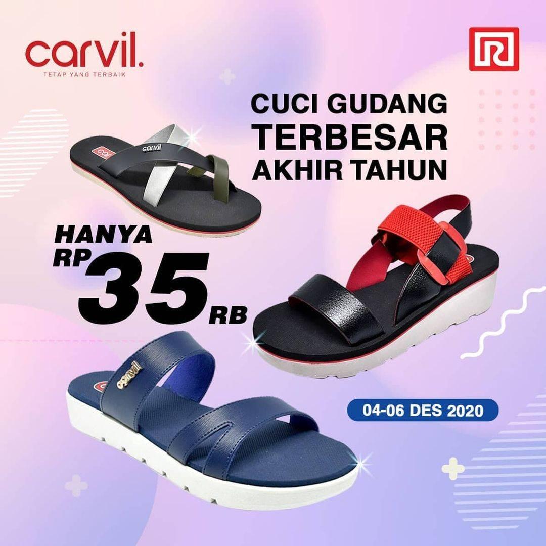 Diskon Ramayana Department Store Promo Sandal Carvil Hanya Rp. 35.000