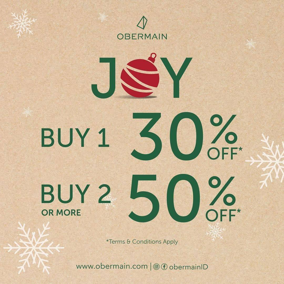 Diskon Obermain Discount Up To 50% Off