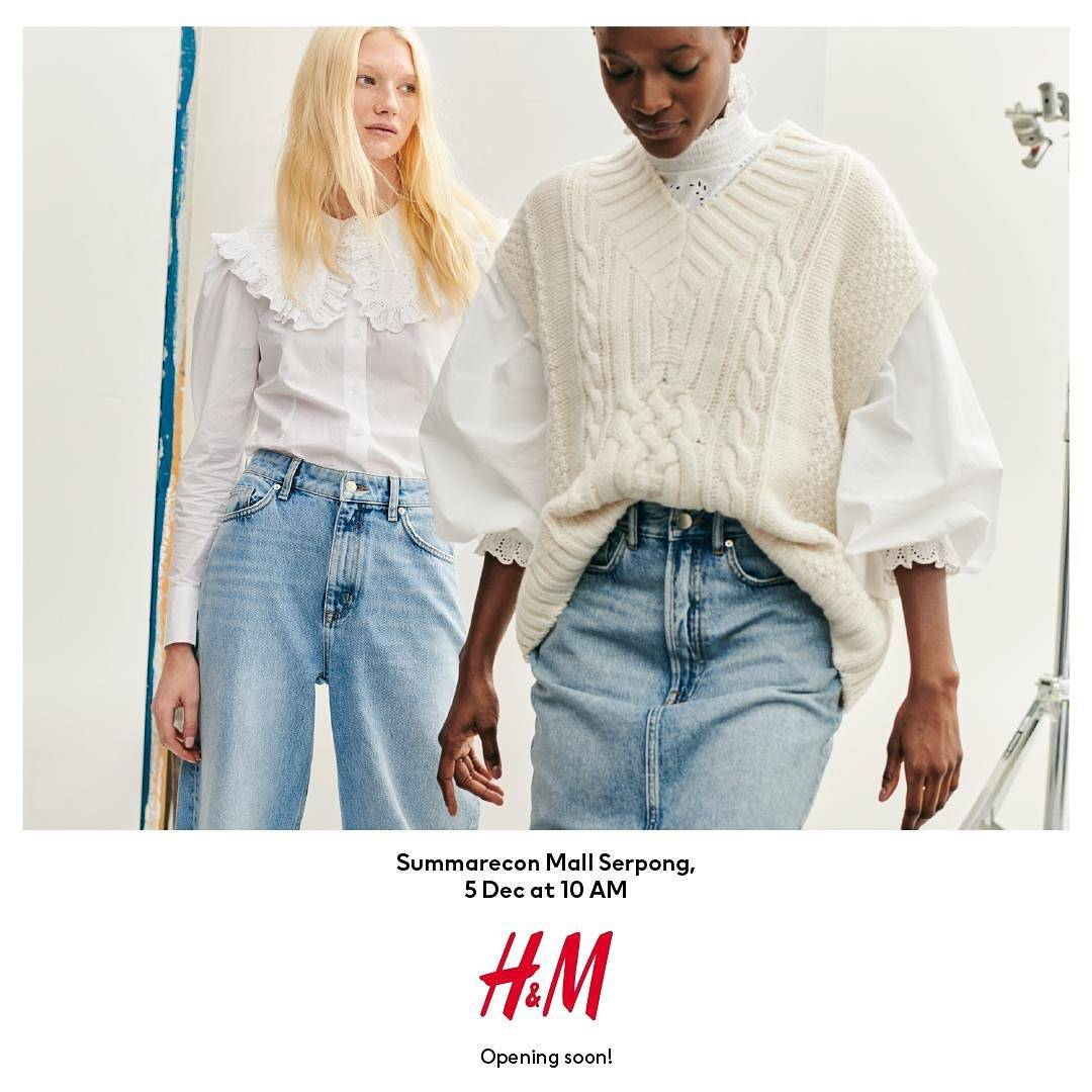 Diskon H&M Opening Offers Discount Up To 50% Off