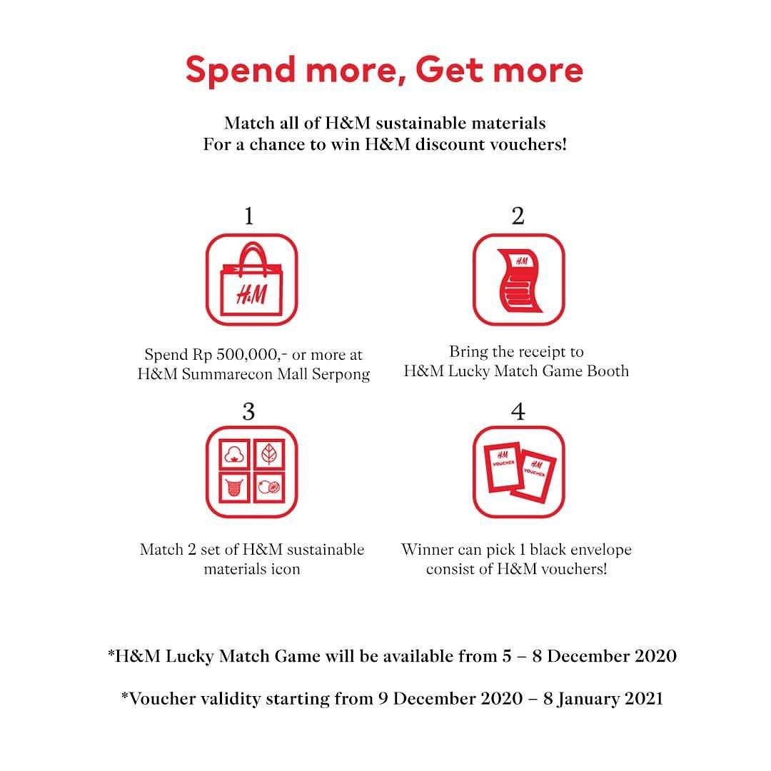 Promo diskon H&M Opening Offers Discount Up To 50% Off
