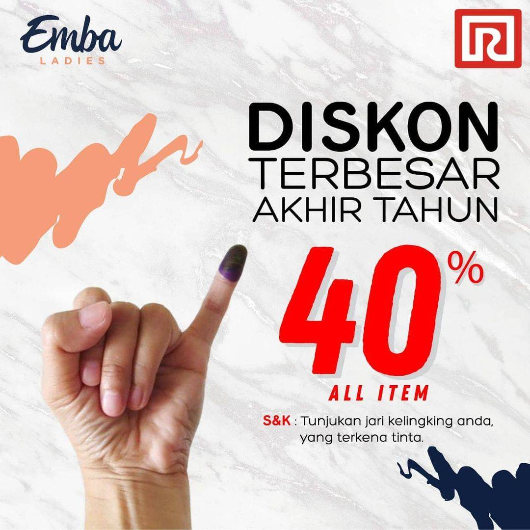 Promo diskon Ramayana Dept Store Promo Pilkada Serentak Discount 50% Off