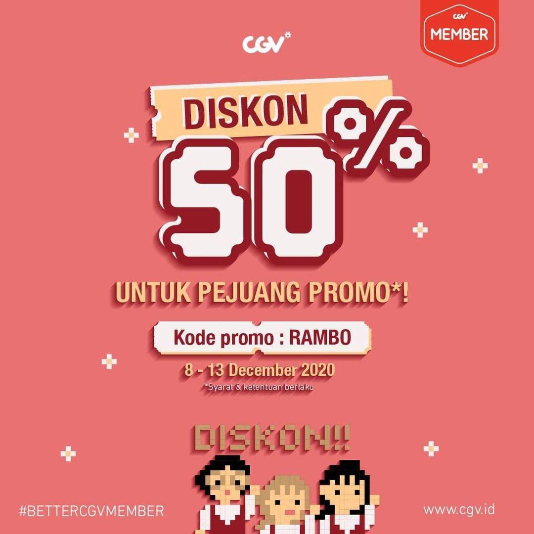 Diskon CGV Promo Diskon 50% Untuk Tiket Film Samjin Company English Class