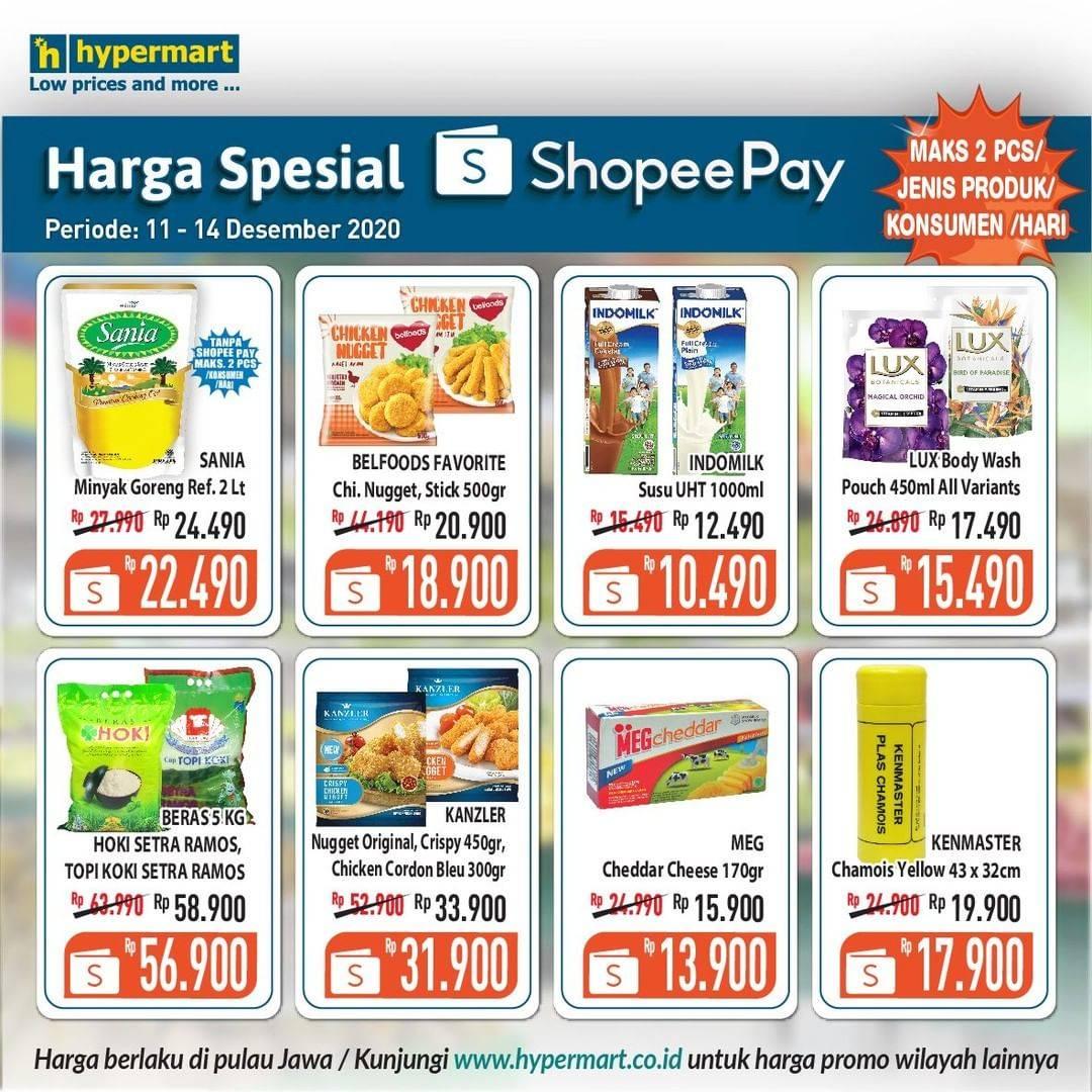 Diskon Hypermart Promo Katalog Harga Spesial Shopeepay