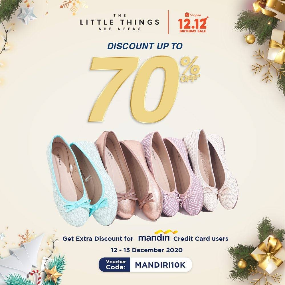 Diskon The Little Things She Needs 12.12 Discount Up To 70% Off On Shopee