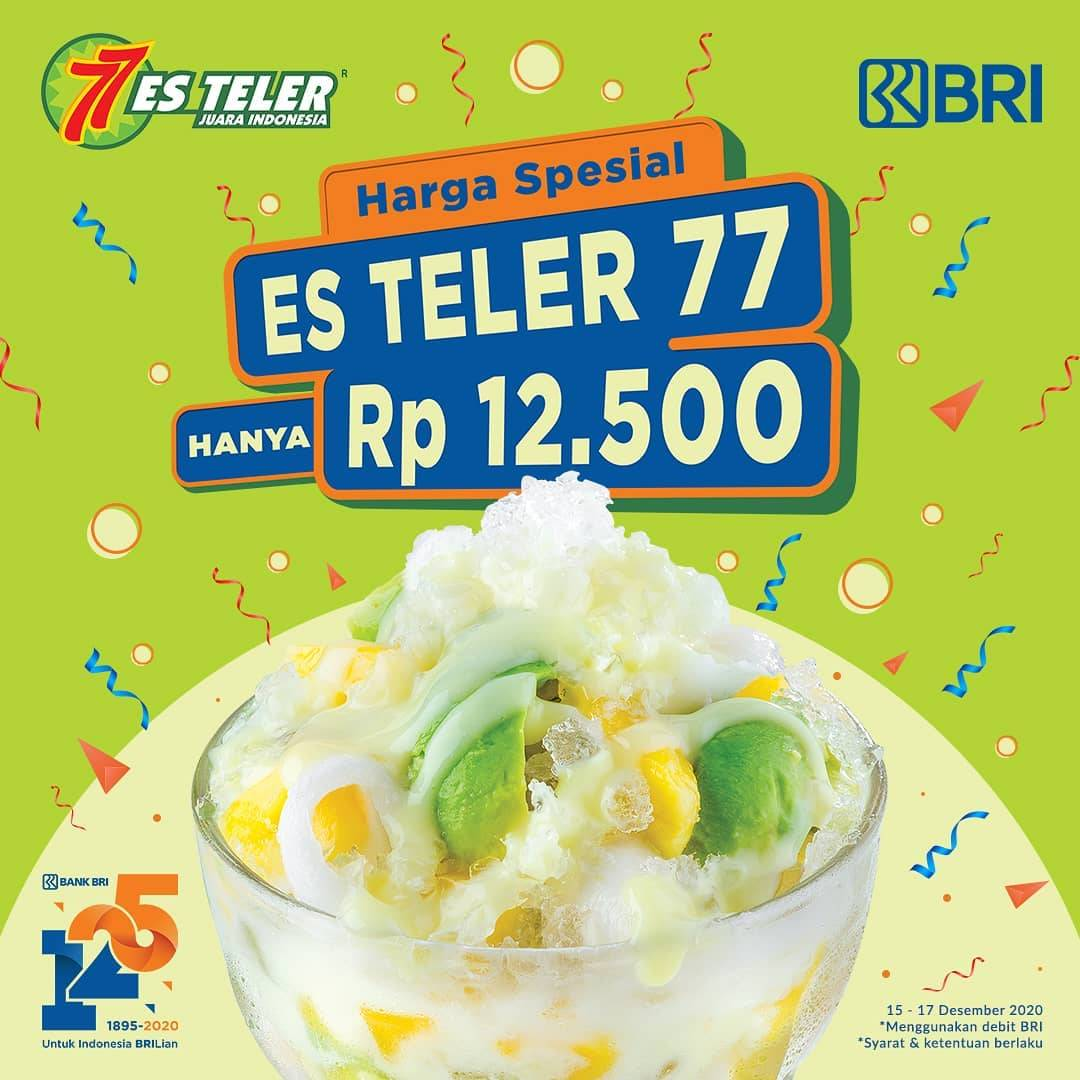 Diskon Es Teler 77 Promo Harga Spesial Hanya Rp. 12.500 Dengan Kartu Debit BRI