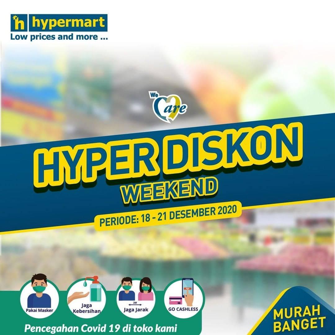Diskon Hypermart Katalog Hyper Diskon 18 - 21 Desember 2020