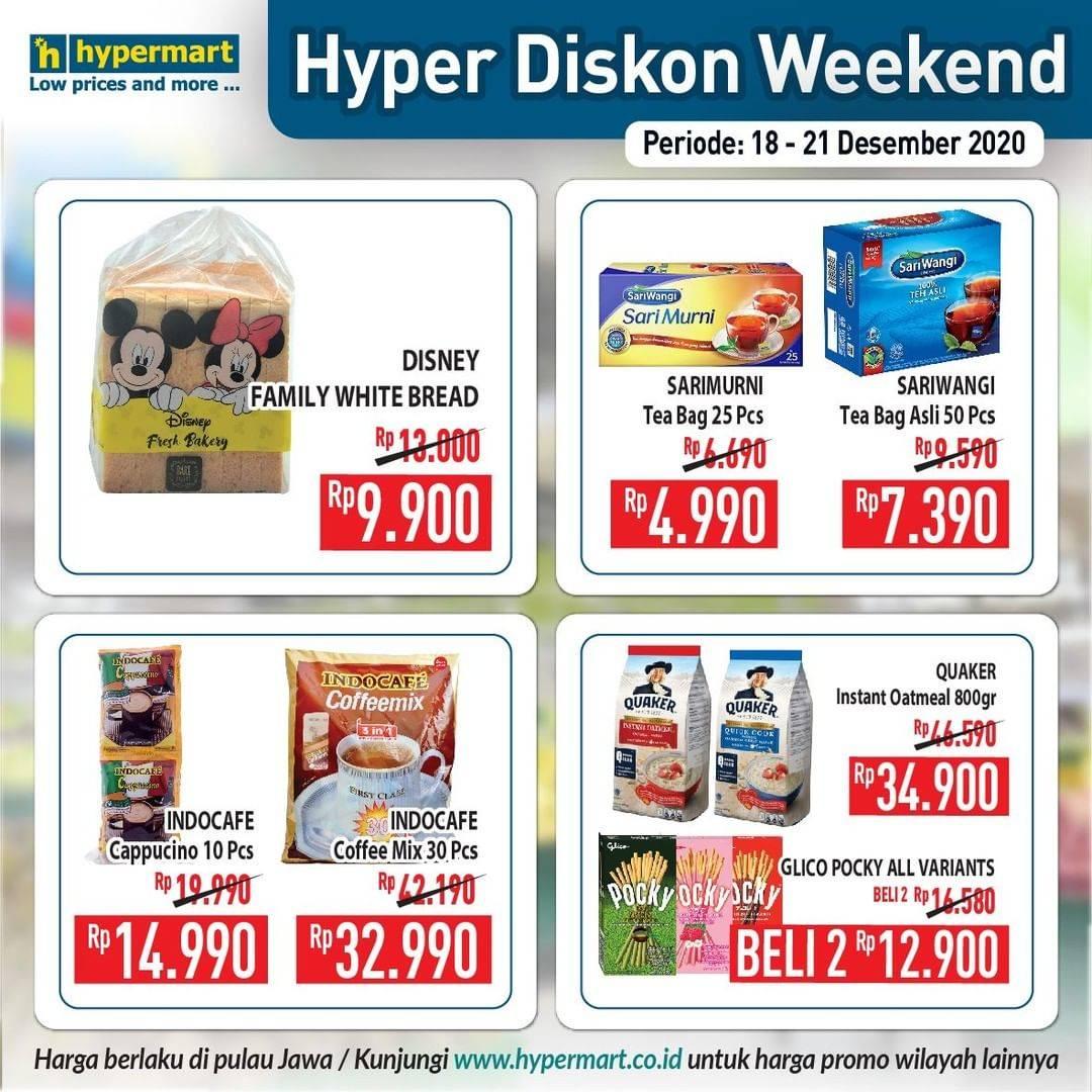 Promo diskon Hypermart Katalog Hyper Diskon 18 - 21 Desember 2020