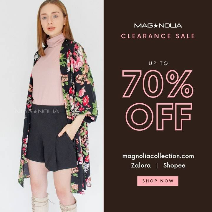Diskon Magnolia Clearence Sale Up To 70% Off