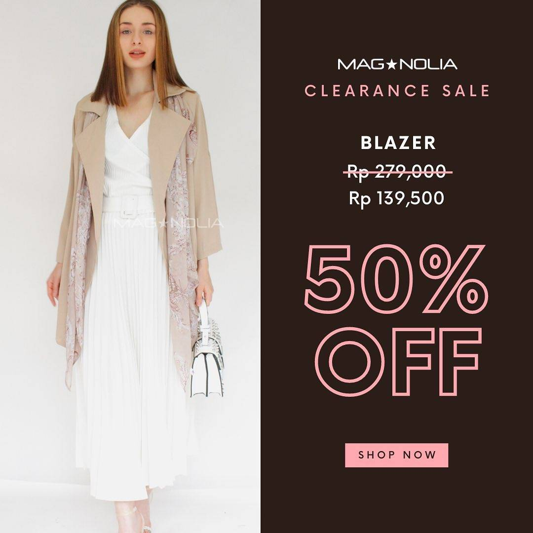 Promo diskon Magnolia Clearence Sale Up To 70% Off