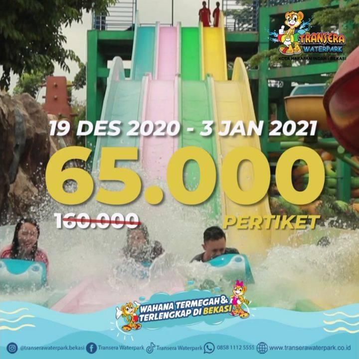 Diskon Transera Waterpark Promo Miracle December Jabodetabek