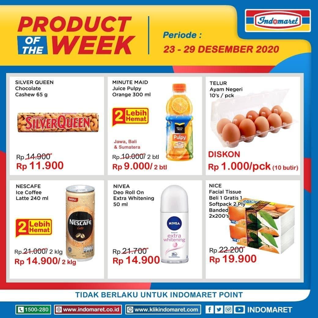 Diskon Indomaret Katalog Product Of The Week 23 - 29 Desember 2020