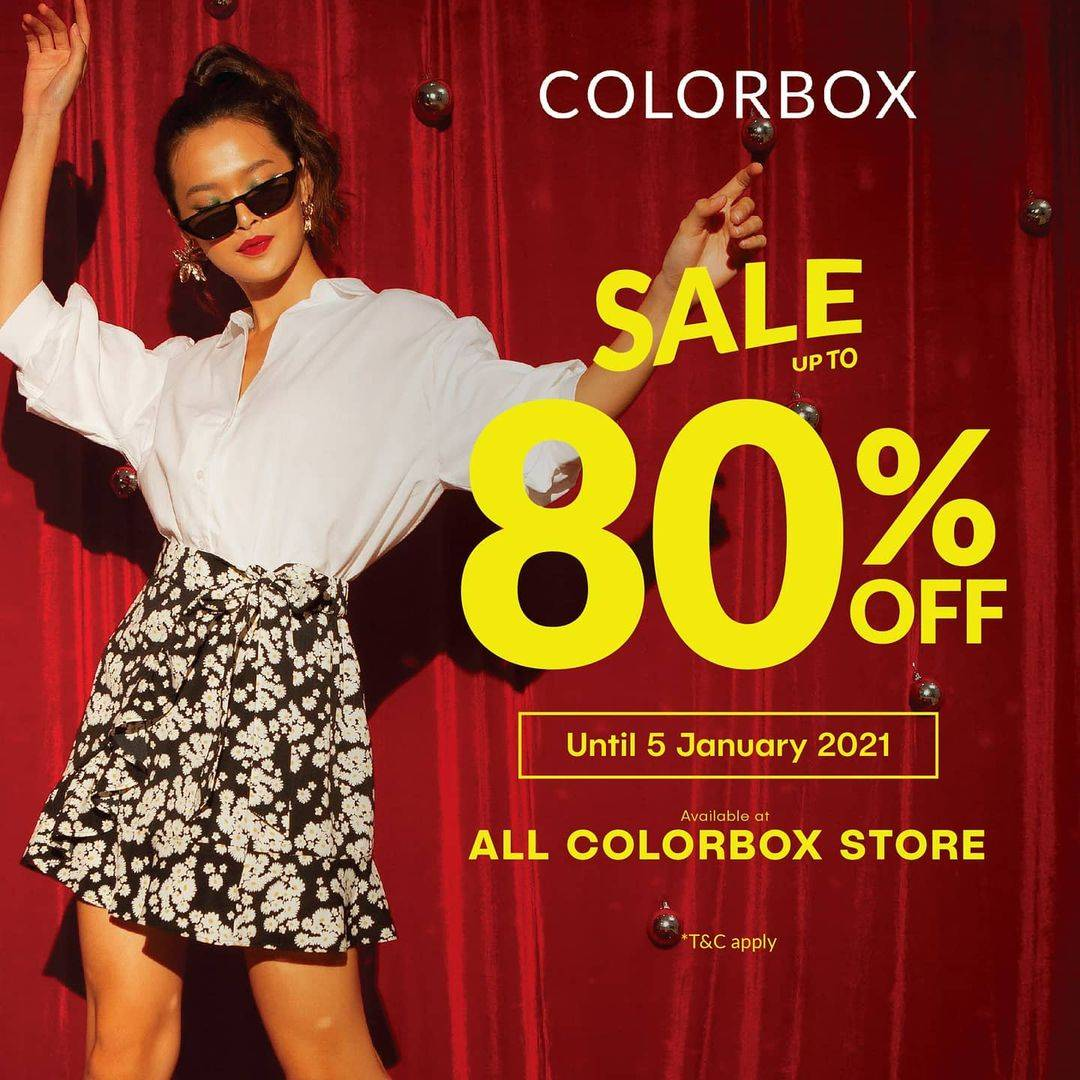 Diskon Colorbox Sale Up To 80% Off