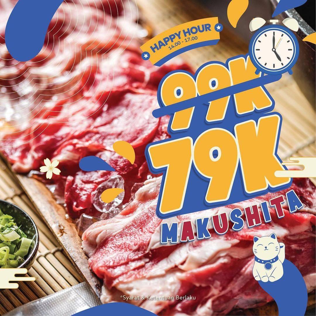 Diskon Kitamura Promo Happy Hour Harga Spesial Hanya Rp. 79.000