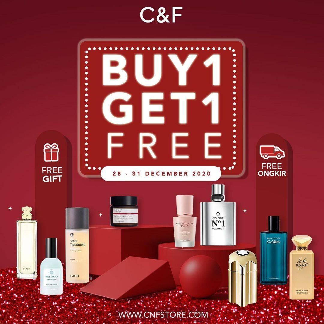 Diskon C&F Parfumery Buy 1 Get 1 Free