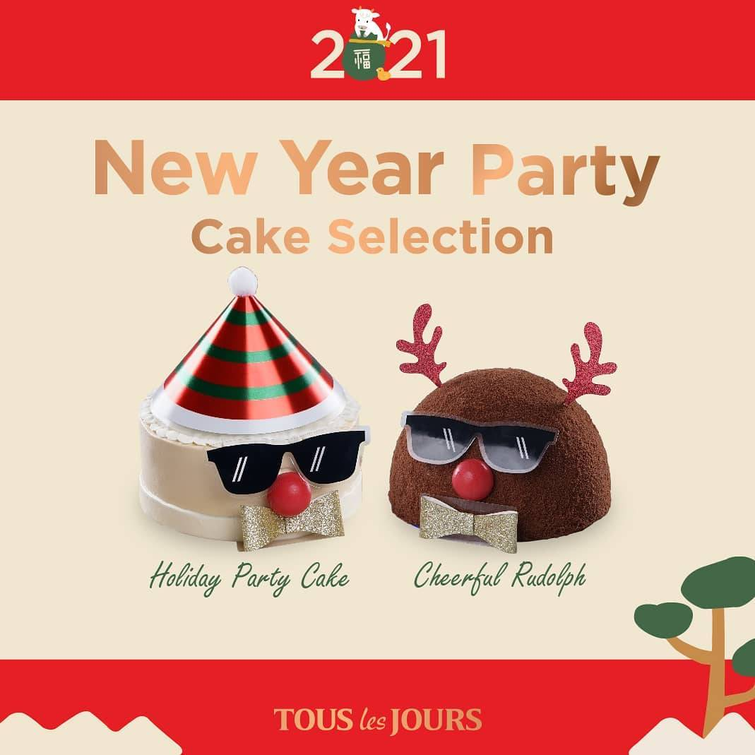 Diskon Tous Les Jours New Year Party Flash Sale Cake Up To 40% Off
