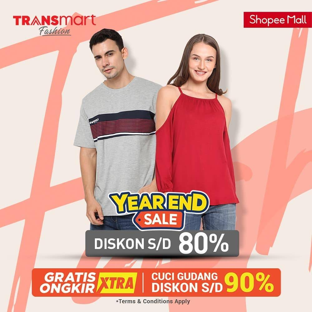 Diskon Transmart Year End Sale Up To 80% On Shopee