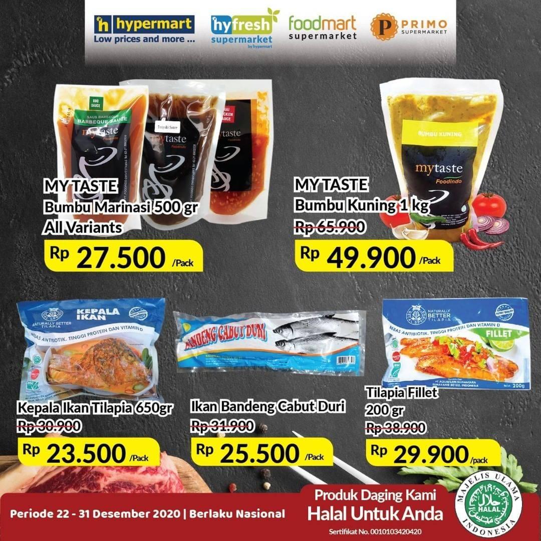 Promo diskon Hypermart Katalog Daging & Ikan 22 - 31 Desember 2020