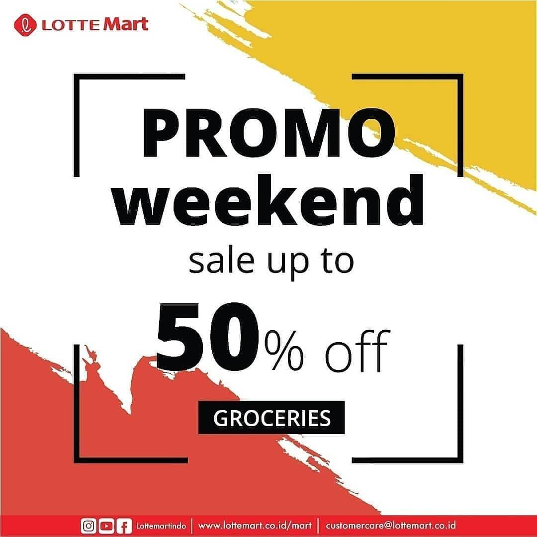 LotteMart Promo Sale Up To 50% Off For Groceries