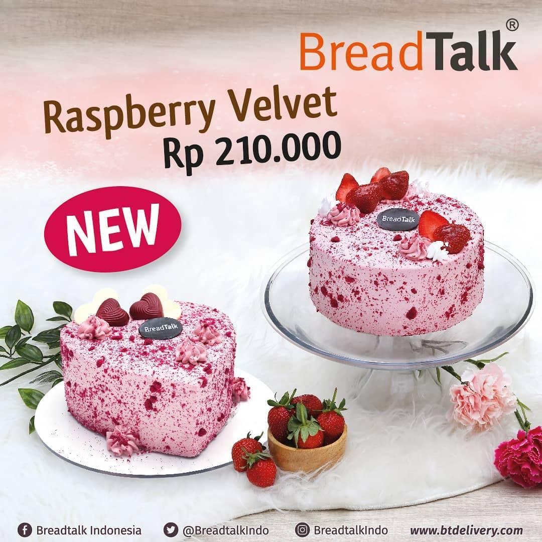 Breadtalk Promo Harga Spesial Raspberry Velvet Cake Rp. 210.000
