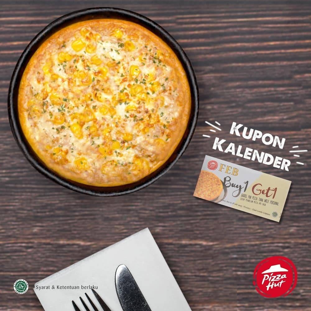 Pizza Hut Promo Kupon Gratis 1 Personal Pan Tuna Tuna Melt Pizza