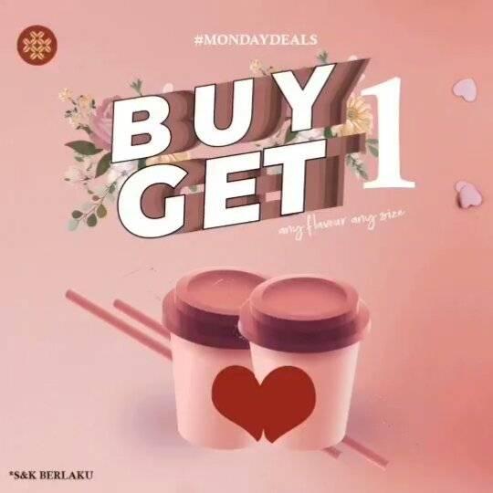 Bengawan Solo Coffee Promo Buy 1 Get 1 Free