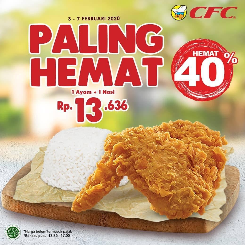 CFC Promo Harga Spesial Paket Paling Hemat Cuma Rp. 13.636