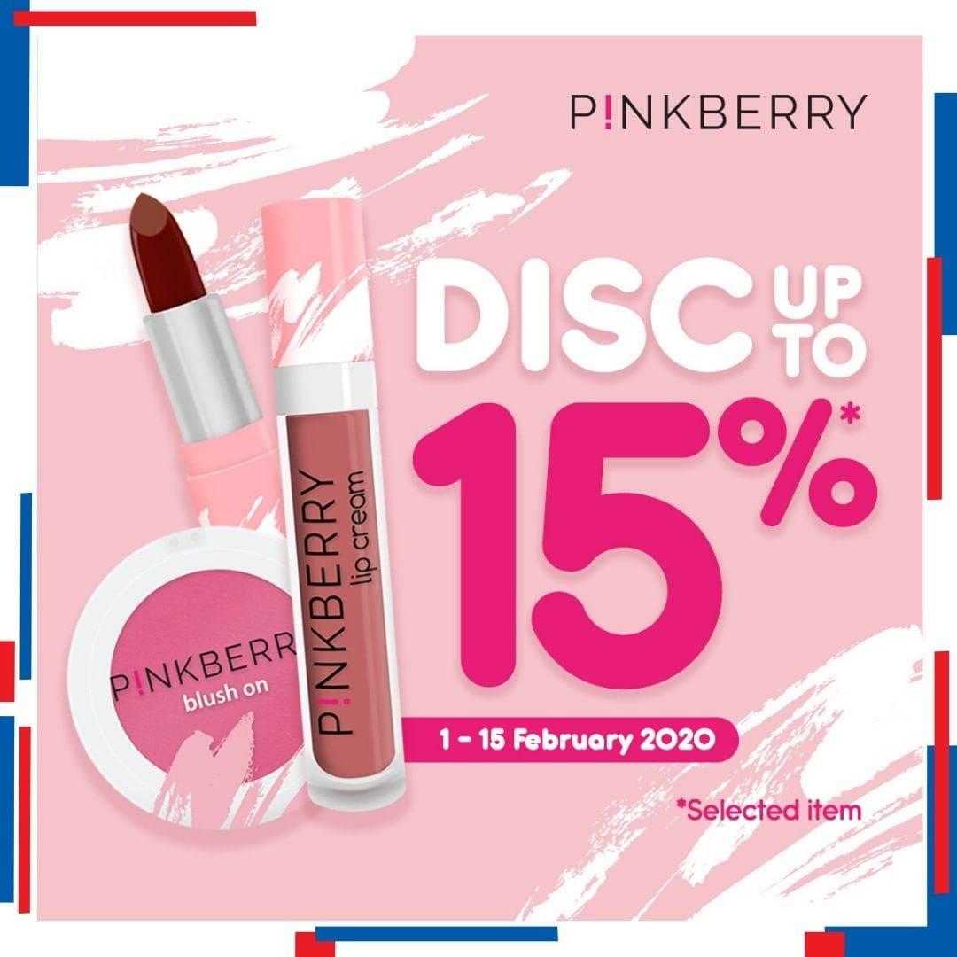 Alfamidi Promo P!nkberry Diskon Hingga 15% Untuk Item Pilihan