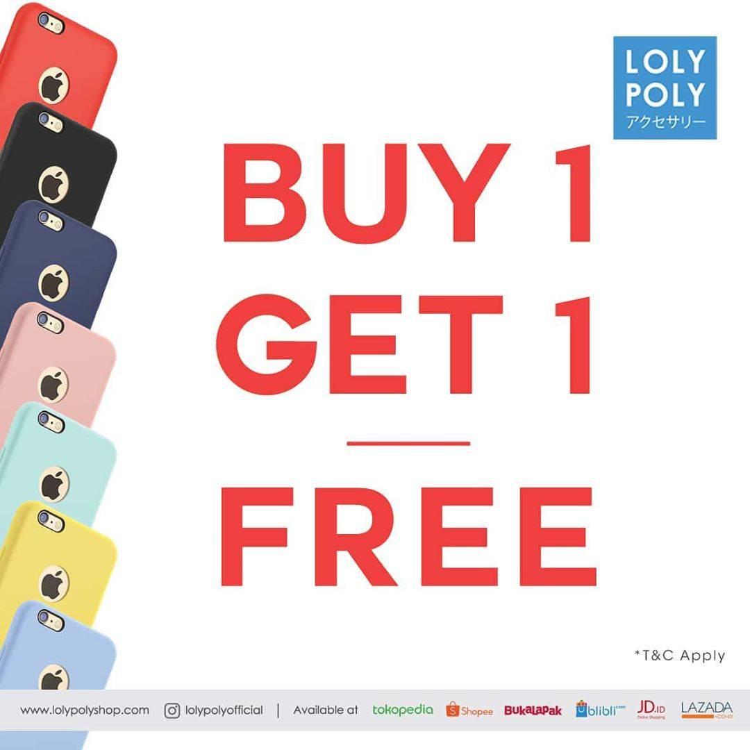 Lolypoly Case Festival Promo Buy 1 Get 1 Free Untuk Item Pilihan
