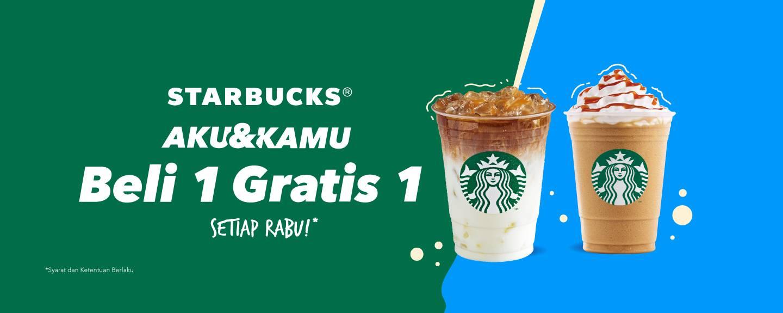 Diskon Dana Promo Beli 1 Gratis 1 Minuman Starbucks Setiap Hari Rabu