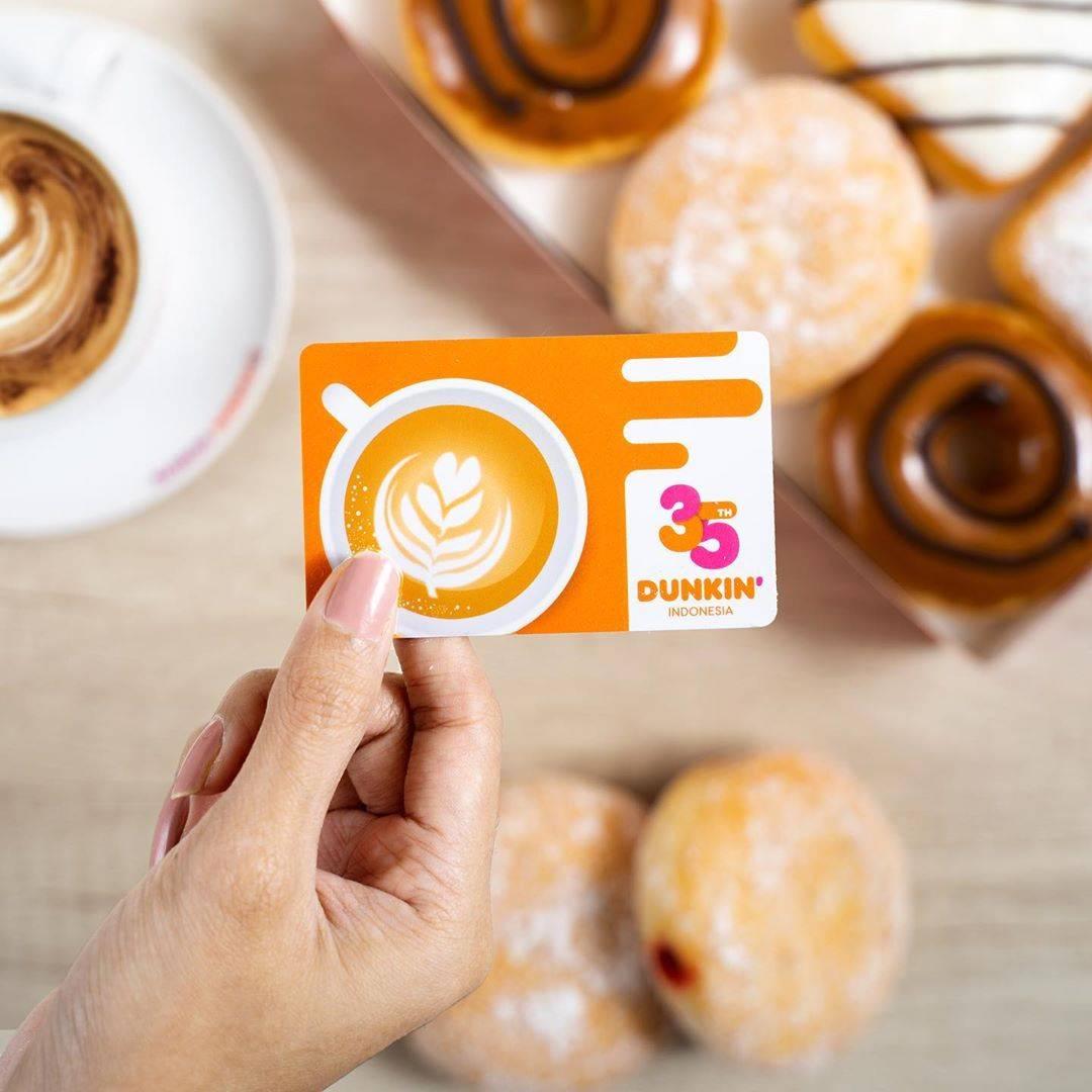 Dunkin Donuts Promo DD Card Bulan Februari - Maret 2020