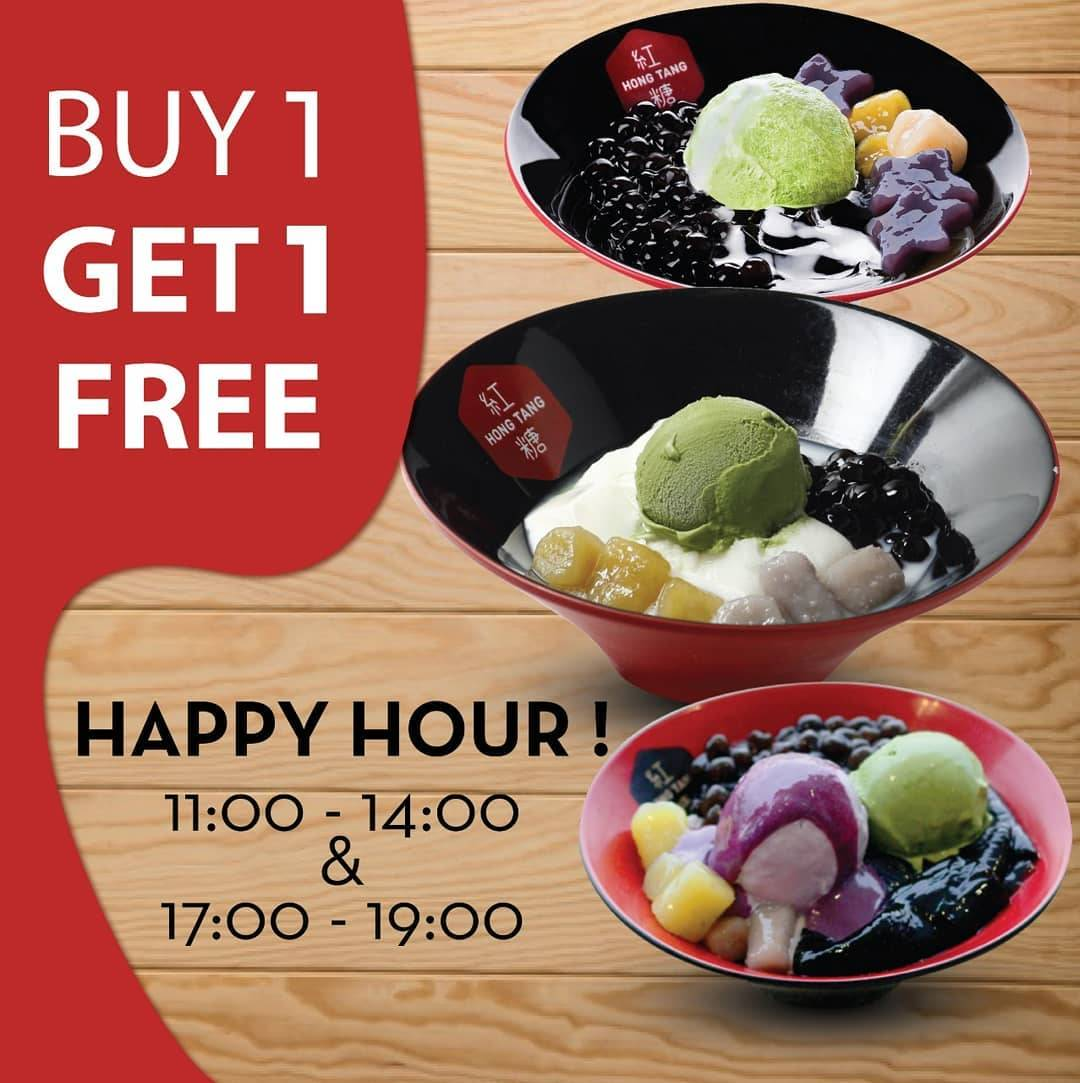 Hong Tang Promo Happy Hour Buy 1 Get 1 Free