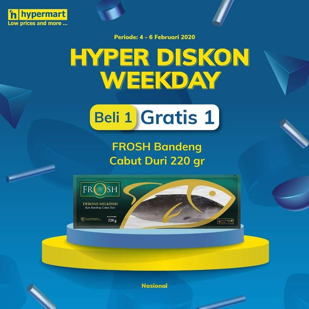Hypermart Promo Beli 1 Gratis 1 Frosh Bendeng Cabut Duri