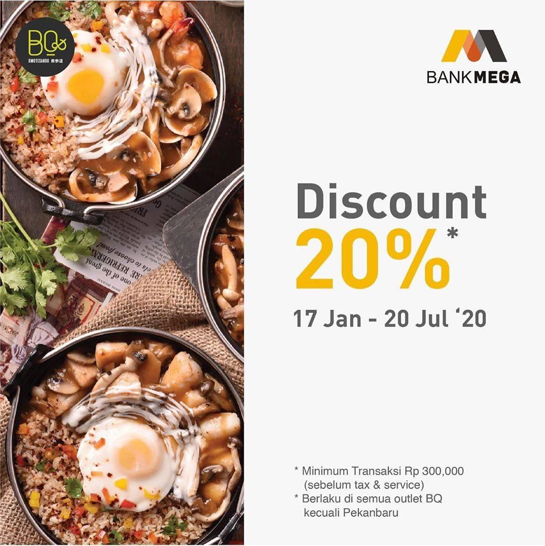 Beatrice Quarters Promo Diskon 20% Dari Bank Mega